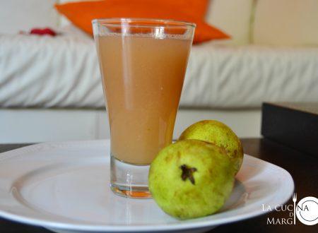 Succo di frutta alla pera    BIMBY