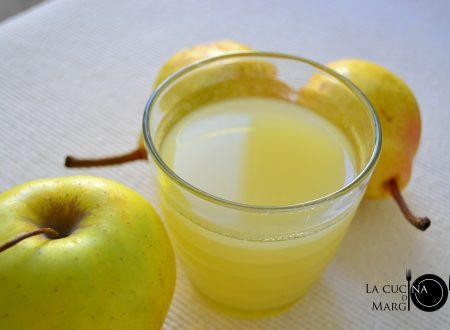 Succo di frutta pera e mela   Bimby