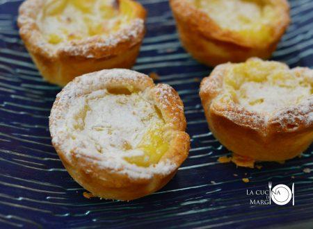 Tortine alla crema   (Simil Pasteis de Nata)