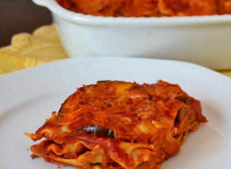 Lasagne con melanzane
