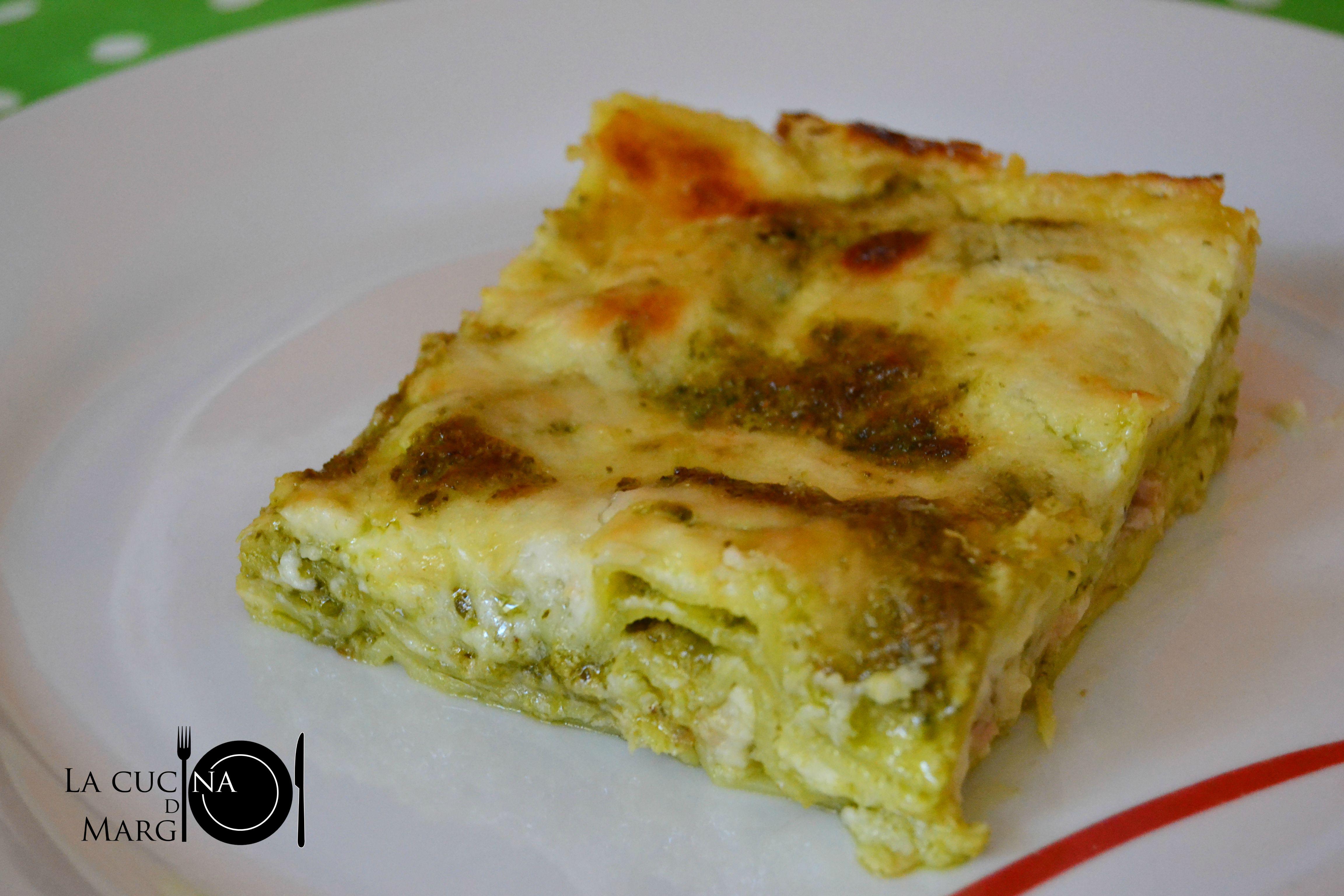 Lasagne al pesto e tonno 02 LOGO DSC_0212