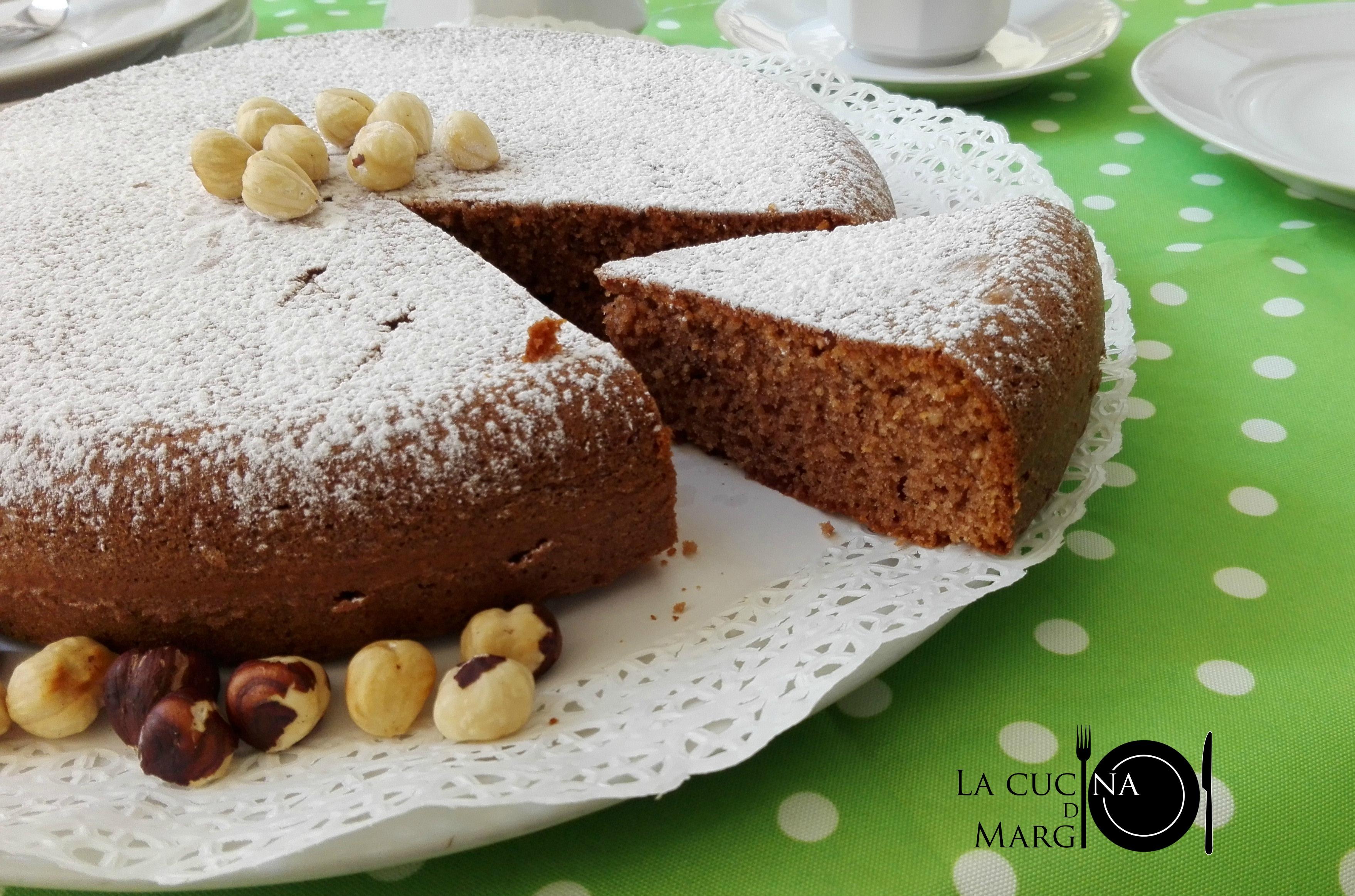 Ricetta torta alle nocciole con il bimby