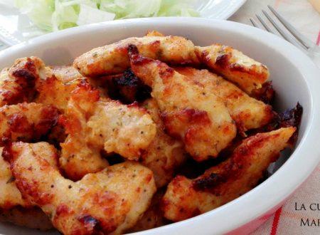 Bocconcini di pollo croccanti al forno