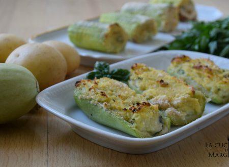 Zucchine ripiene – Ricetta vegetariana