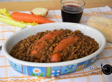 Wurstel con lenticchie