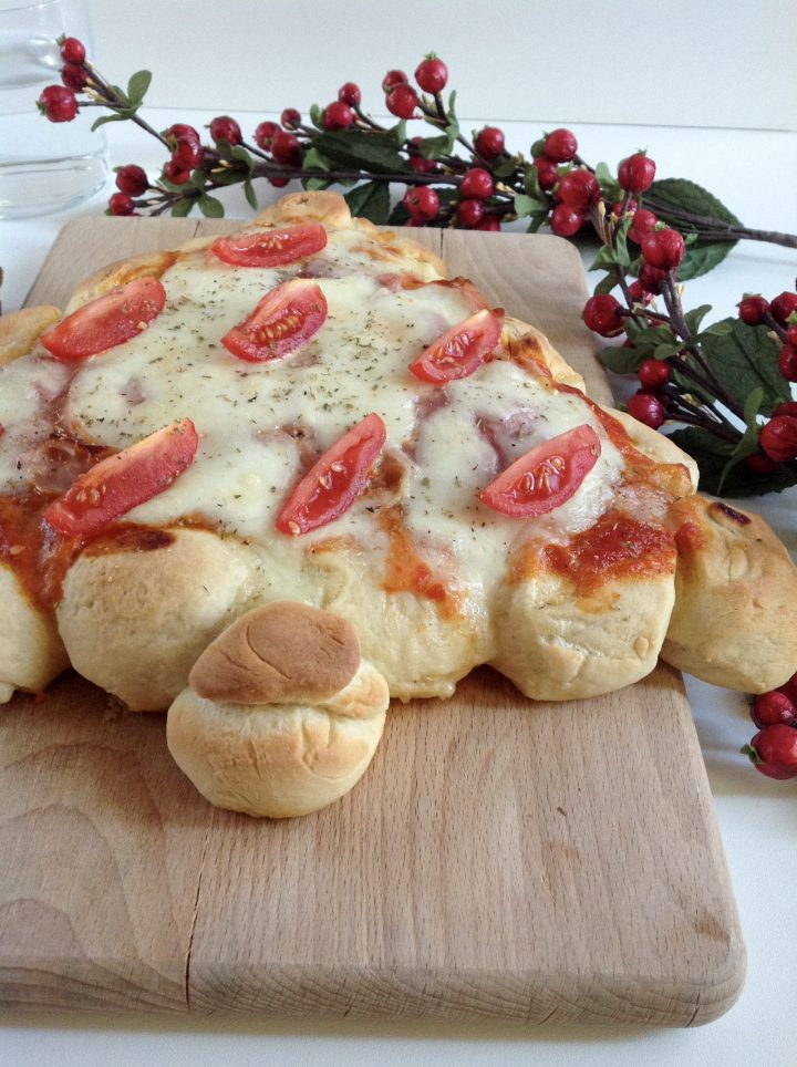 Pizza alberello di Natale