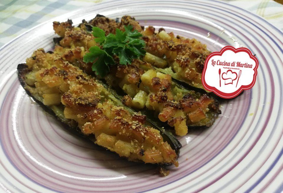 barchette-di-zucchine-con-pasta-e-gamberetti
