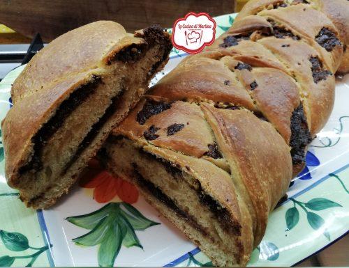 Pan brioche con lievito madre alla Nutella