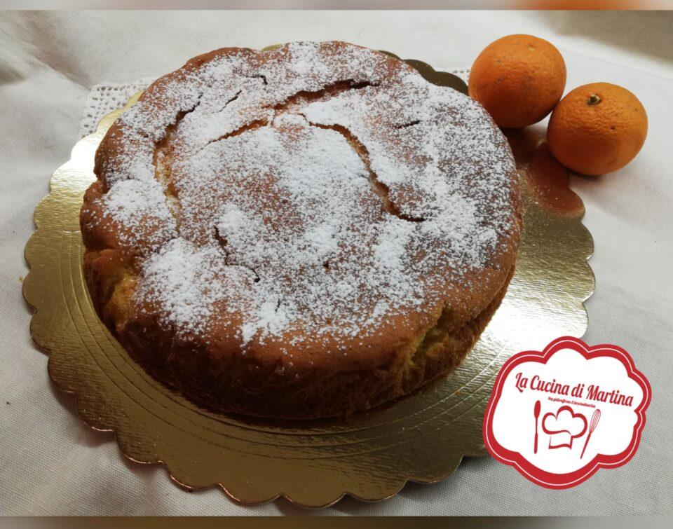 torta panna e arancio