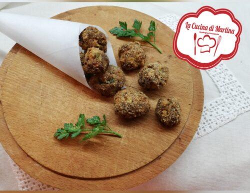 Polpette di carne e zucchine al forno