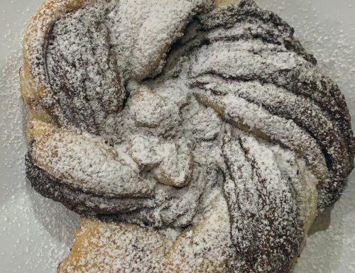 Girella di pasta sfoglia e nutella 😋
