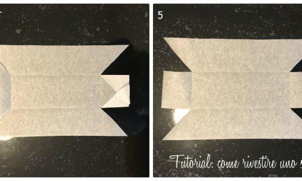 Come rivestire uno stampo per plumcake con la carta forno