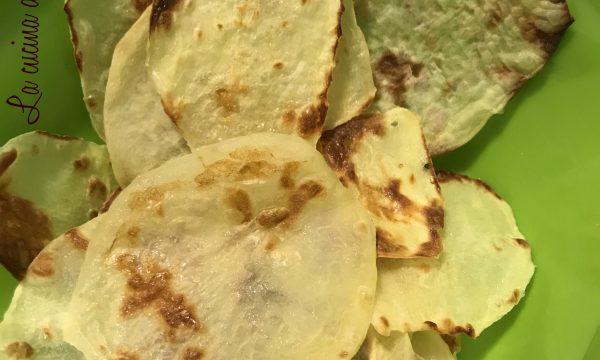 Chips di patate (Come quelle del sacchetto!)
