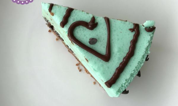 Torta fredda menta e cioccolato – Senza cottura