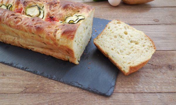 CAKE SALATA ALLE PATATE E ZUCCHINE