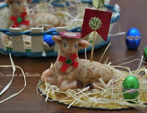 Pecorelle in pasta reale