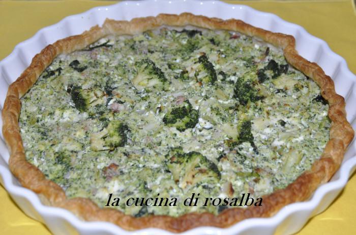 sfoglia broccoli e ricotta