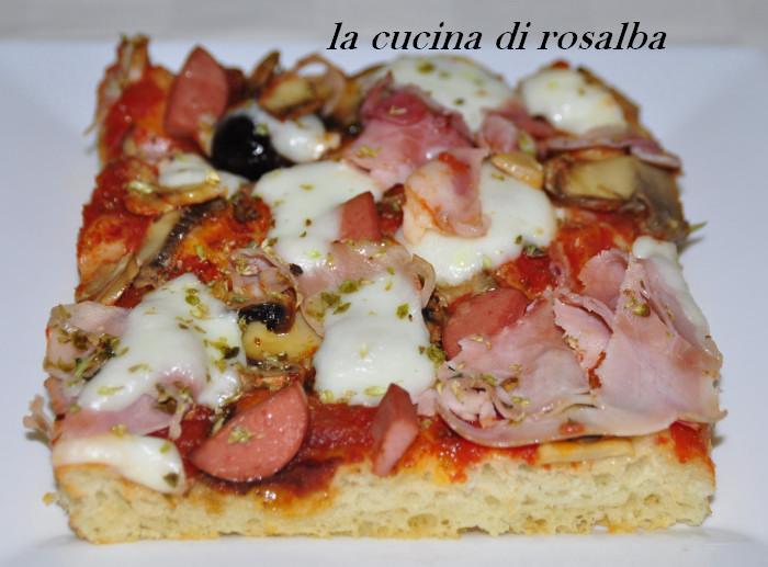 Pizza fatta in casa ricetta for Pizza in casa