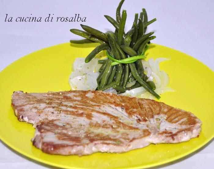 tonno arrosto ricetta la cucina di rosalba