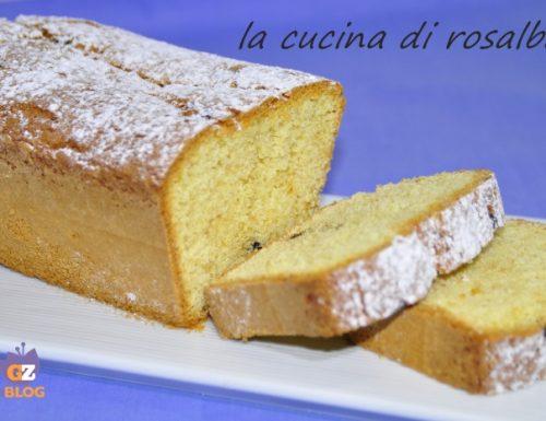 Plum cake all'olio d'oliva