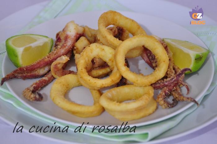 frittura di calamari freschi ricetta la cucina di rosalba
