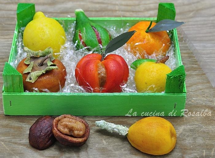 frutta martorana | ricetta la cucina di rosalba