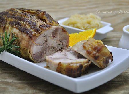 Rollè di pollo al forno