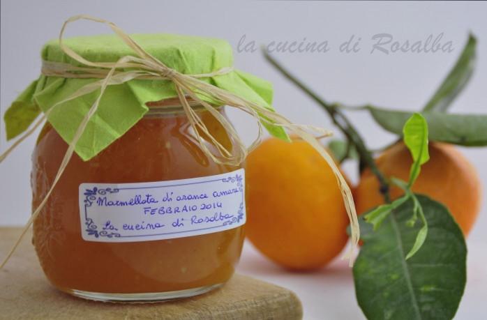 marmellata di arance amare   ricetta la cucina di rosalba