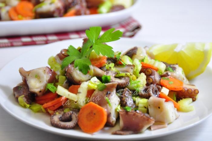 Insalata di polpo siciliana ricetta la cucina di rosalba - La cucina siciliana ...