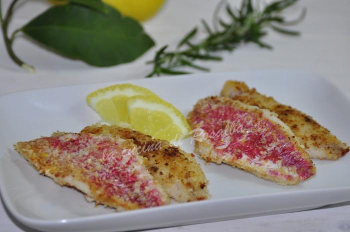filetti di triglia limone e rosmarino   ricetta la cucina di rosalba