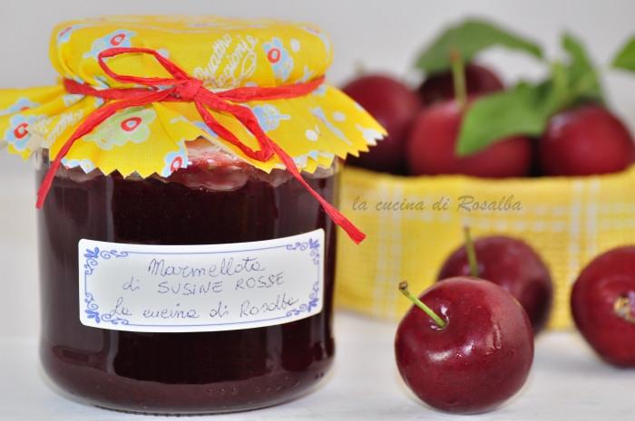 Marmellata di susine rosse la cucina di rosalba for Marmellata di cipolle rosse cucina italiana