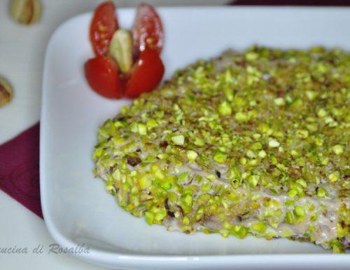 tonno al pistacchio