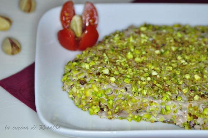 tonno al pistacchio | ricetta la cucina di rosalba