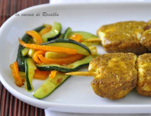 pollo allo yogurt e curry