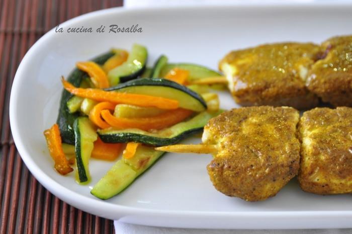 pollo allo yogurt e curry  ricetta la cucina di rosalba