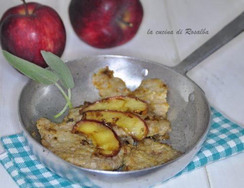 fettine di vitello alle mele