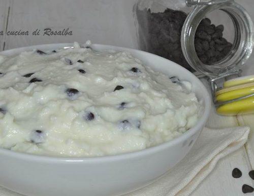 Crema di ricotta siciliana