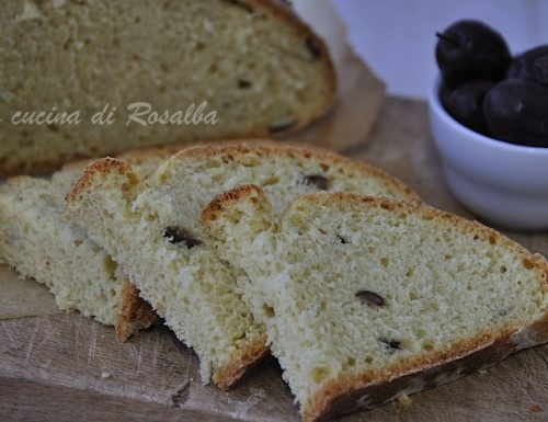 Pane di semola rimacinata alle olive