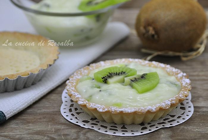 Crostata al kiwi