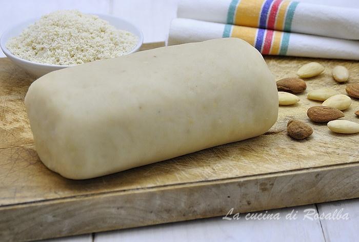 Pasta reale o pasta di mandorle