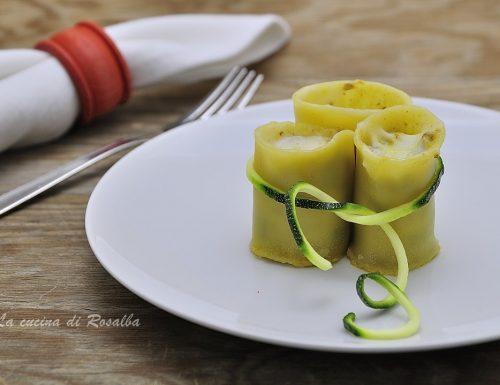 Paccheri ripieni di zucchine e macinato