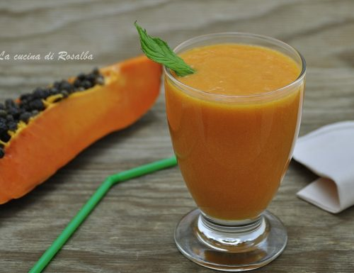Frappè alla papaya