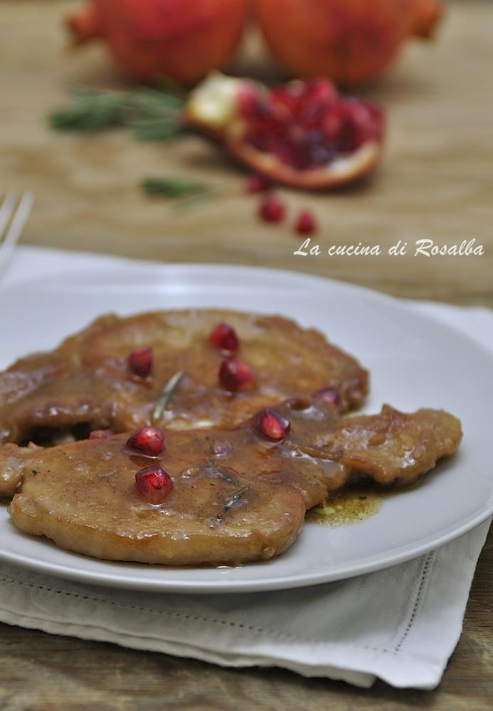 Lonza di maiale al melograno | La cucina di Rosalba