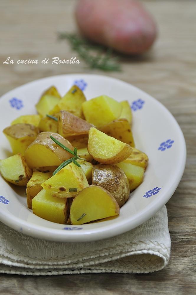 patate rosse al rosmarino ricetta
