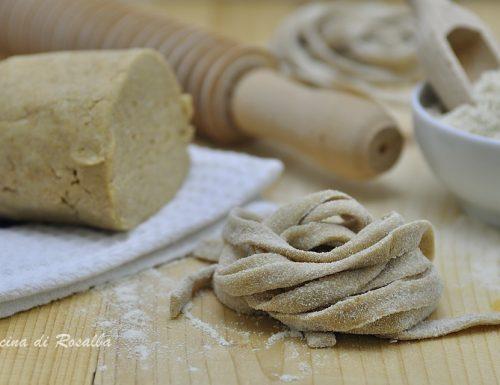 Pasta integrale fatta in casa