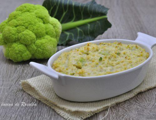 Sformato di broccoli e ricotta