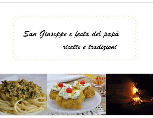 San Giuseppe e festa del papà