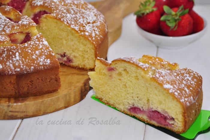torta 7 vasetti alle fragole