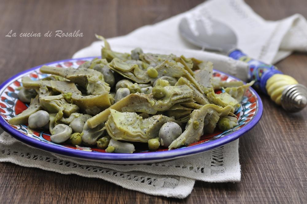 frittella palermitana - ricette con le fave