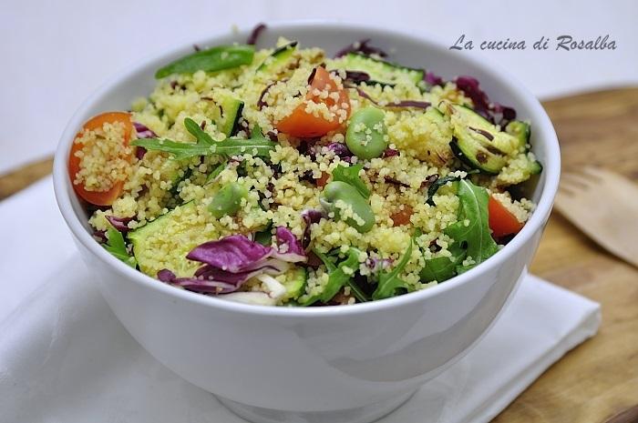 cous cous alle verdure - ricette con le fave